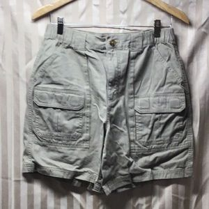 Croft & Barrow Mens Size 32 Khaki Cargo Shorts